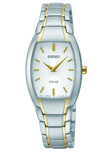 Seiko Women's SUP260 Analog Display Analog Quartz Two Tone Watch