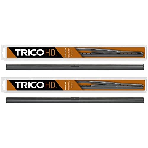 """Nice 2 Wiper Set - Trico 61-140 14"""" Wiper Blades Fit Heavy Duty Vehicles w/Flat Windshields & Saddle Attachment - If Vehicle Not In Amazon Garage Verify Fitment at www.TricoProducts.com Before Purchasing hot sale"""