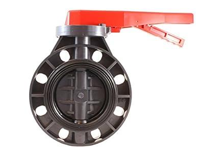 """PVC Butterfly valve 6"""" - EPDM Seals - Sanipro by SANIPRO"""