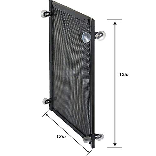 20 Gallon Aquarium Divider with Suction Cups - Fish Tank Divider Perfect for Betas
