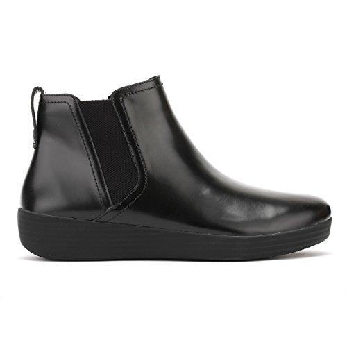 Fitflop Super Chelsea Womens Boots 3 Black kvhYX5