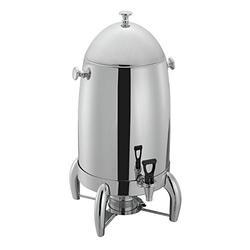 HUBERT Stainless Steel Coffee Urn 5 Gallon - 13 3/4''L x 12 1/5''W x 24 2/5''H by Hubert
