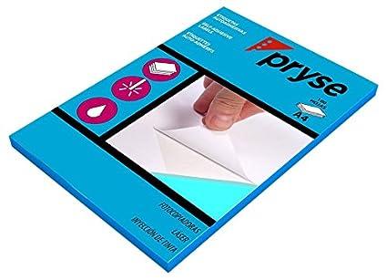 Pryse 1050016 - Etiquetas adhesivas para fotocopiadora, impresora laser e inkjet, 70 x 67,7 mm