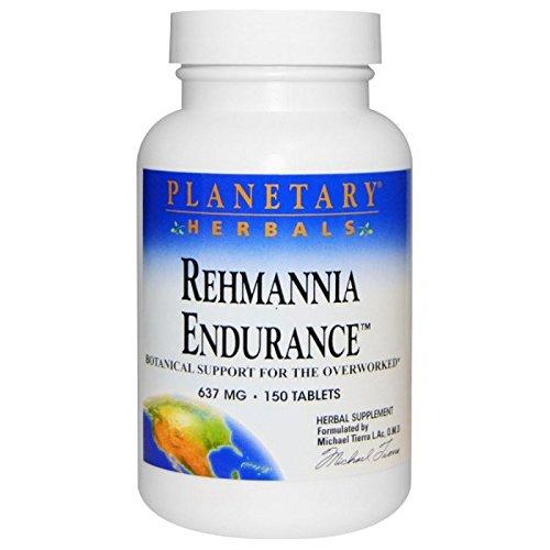 Rehmannia Endurance Planetary Herbals 150 Tabs