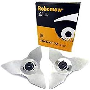 Robomow 2 Kit de Cuchillas para RS/TS/MS: Amazon.es: Jardín