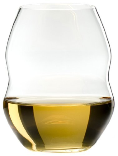 Riedel Swirl White Wine Glasses, Set of 4
