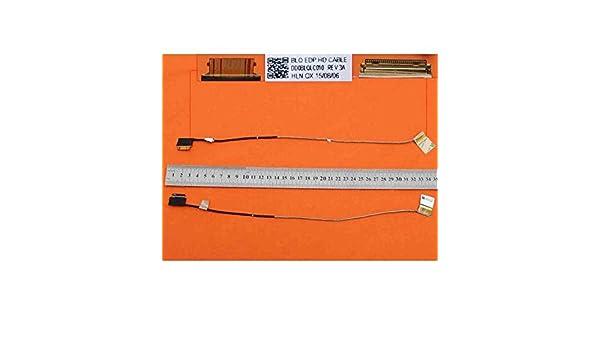 Portatilmovil Cable Flex para PORT/ÁTIL Toshiba Satellite L50-C L50D-C C55D-C S55-C P55T-C L50D-C DD0BLTLC020