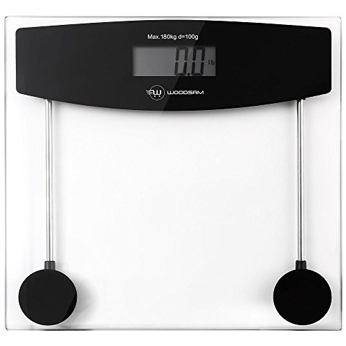Digital Personal Bathroom Body Glass Weight Heath Fitness LCD Scale 400LB 180kG