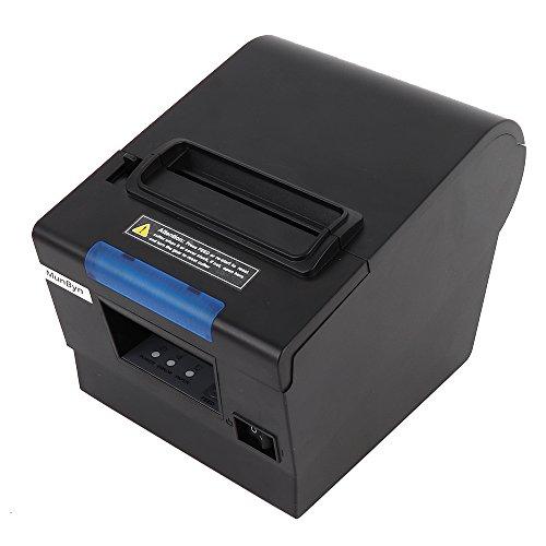 [Actualización 2.0] 80 mm Impresora de tickets térmica,MUNBYN Impresora de Recibos Térmica Directa, Impresora Portátil de...