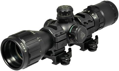UTG 3-9X32 1 BugBuster Scope, AO, RGB Mil-dot, QD Rings