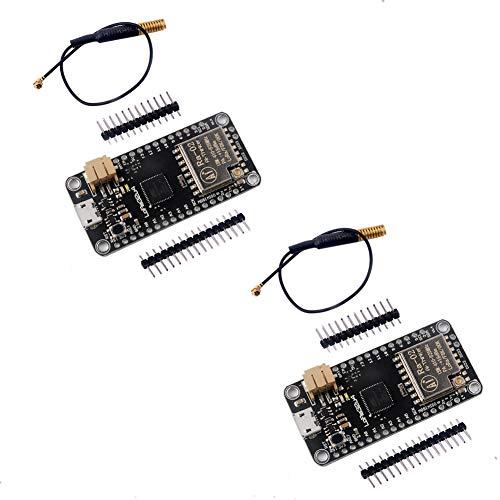 DIYmall LoRa32u4 LORA RA-02 صفحه توسعه ماژول ارتباطات دوربرد 1KM LiPo Atmega32U4 SX1278 برای آردوینو (بسته 2 مجموعه)