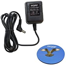 HQRP Charger / AC to AC Adapter for Black & Decker 9078A / 9078-A Type 1; 9078TB / 9078-TB Type 1; 9078 3.6V Rechargeable Screwdriver + HQRP Coaster