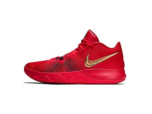 Nike Men's Kyrie Flytrap Basketball Shoes AA7071-600 (University Red/Metallic Gold, 6 M US) (Nike Mens Basketball Shoes)
