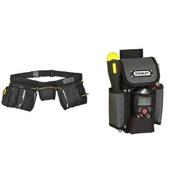 Stanley 1-96-178 - Cinturón para herramientas + 1-93-329 ...