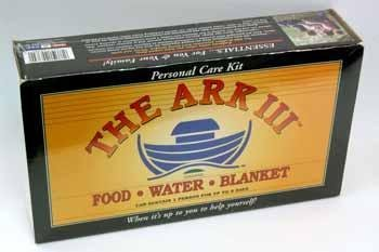 Survivor Ark III 72 Hour Emergency Survival Kit - Food - Water - Blanket