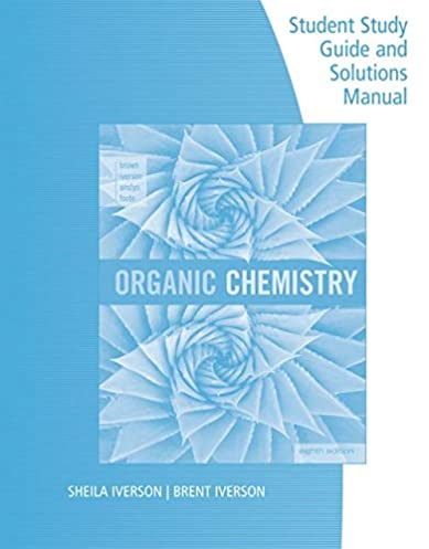 Solutions manual for organic chemistry 8th edition user guide amazon com student study guide and solutions manual for brown rh amazon com solution manual for organic chemistry carey 8th edition solution manual for fandeluxe Gallery