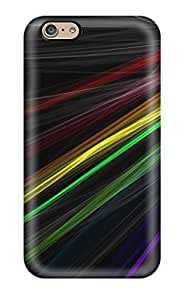Premium PvONwQy4416FejoR Case With Scratch-resistant/ Rainbow Abstracts Case Cover For Iphone 6
