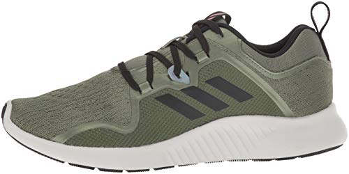 adidas Women's EdgeBounce Running Shoe Base Green/Black/Trace Maroon 5 M US by adidas (Image #5)
