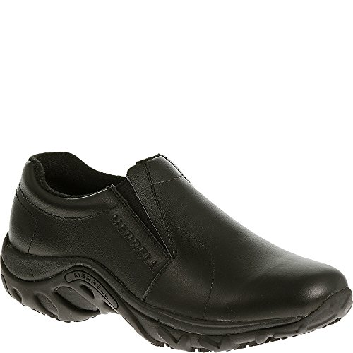 Merrell Women's Jungle Moc Pro Grip Slip-Resistant Work Shoe,Black,5.5 M US
