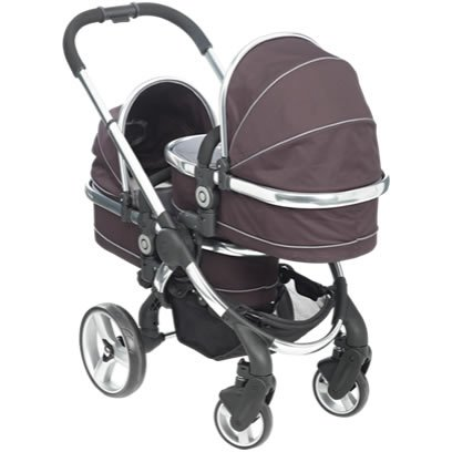 iCandy Peach Twin Carrycot Black Jack