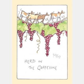 3x allevamento sul Grapevine biglietti di auguri