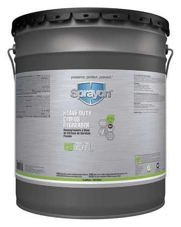 Heavy Duty Degreaser, 5 gal. by Sprayon