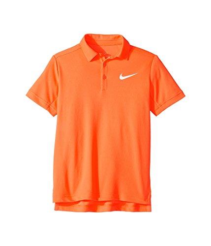 Nike B Dry Polo de Tenis, Niños multicolor (tart / white)
