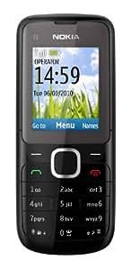 """Nokia C1-01 - Móvil libre (pantalla de 1,8"""" 128 x 160, cámara 0.3 MP, 64 MB de capacidad) color negro"""