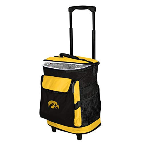 Logo Brands 155-57 NCAA  Iowa Hawkeyes Rolling Cooler ()