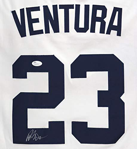 Robin Ventura Chicago White Sox Signed Autographed White Retro #23 Jersey JSA COA