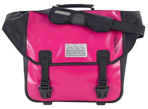 NEW Brompton O Bag Ortlieb Messenger Bag BERRY CRUSH PINK PURPLE