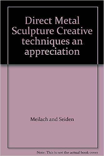 Direct Metal Sculpture Creative techniques an appreciation