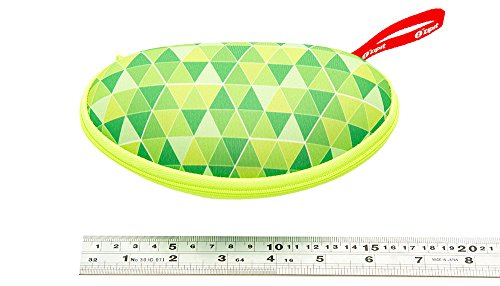 ZIPIT Colorz Box Glasses Case, Green Photo #2