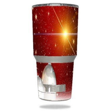 ef33176e66d Amazon.com: Christmas Red Happy St Nicholas decorative Designs Vinyl ...