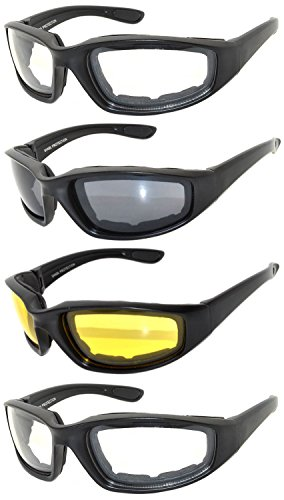 OWL - Riding Glasses - Clear Yellow Smoke (4 - Riding Sunglasses