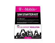 T-Mobile Prepaid Complete SIM Starter Kit - No Contract Network Connection (Universal: Standard, Mirco, Nano SIM)