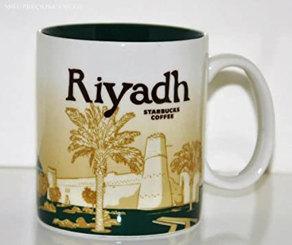 Amazon Com Starbucks Riyadh Global Icon Series Mug Kingdom