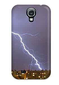 Premium Tpu Lightning Cover Skin For Galaxy S4