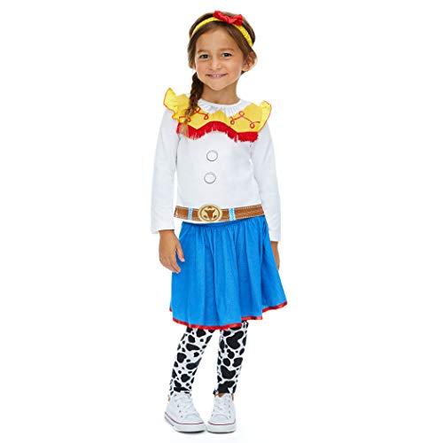 Toy Story Jessie Toddler Halloween Costume (Disney Toy Story Jessie Toddler Girls Costume T-Shirt Leggings & Headband)