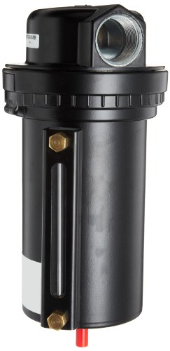 Dixon F30-08AMB Automatic Drain Wilkerson Airline Jumbo Filter with Metal Bowl and Sight Glass, 1'' Size, 323 SCFM Flow, 200 psig Pressure by Dixon Valve & Coupling