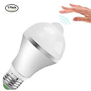 Motion Sensor Light Bulb Minger 9w Smart Pir Led Bulbs