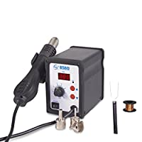 YAOGONG 858D SMD Hot Air Gun Rework Station Digital Solder 4Nozzles 110V 700W by Guangzhou Yaogong Electronics Technology Corporation Limited