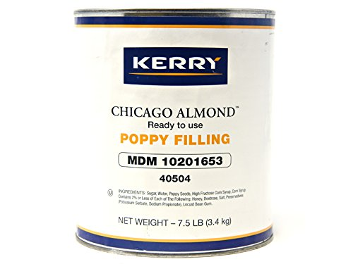 Kerry Food and Beverage Poppy Filling - Number 10 Can -- 6 cans per case. by Kerry Food and Beverage