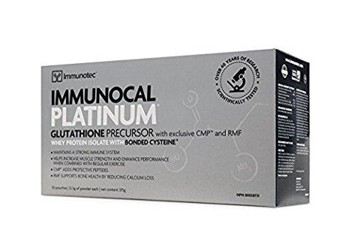 IMMUNOCAL PLATINUM Content : 30 pouches (0.44 oz/12.5 g each)