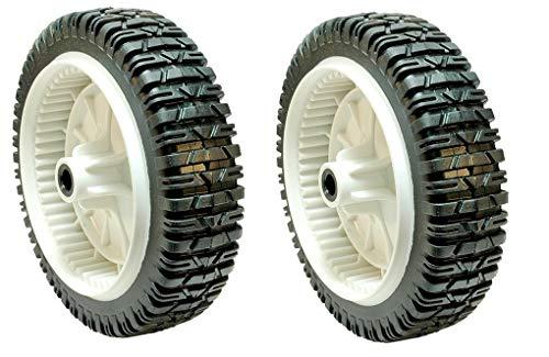 Lawn Plastic Wheel Mower (Rotary 14998 PK2 Plastic Drive Wheels)
