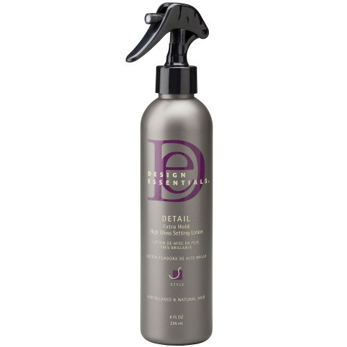 Design Essentials Detail Extra-Hold High Gloss Setting Lotion 8oz