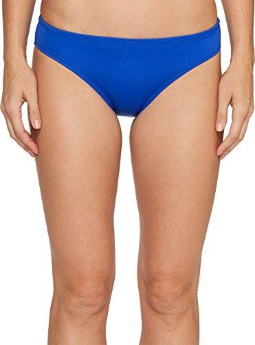 Nautica Women's Signature Retro Pant Bikini Bottom, Azure, S Retro Bikini Pant