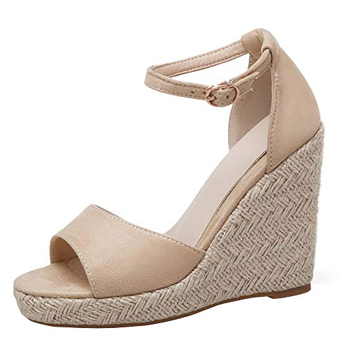 Beige Sandals Femmes Chaussures Bride Zanpa D'été Mode Cheville BqWA0