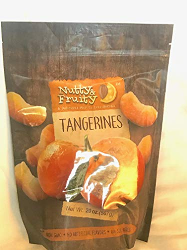 - Dried Tangerine Wedges 20 ounce Bag