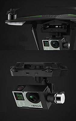 XIRO Zero Xplorer (G Version) 5.8G RC Drone Explorer Quadcopter RTF GPS UAV 360°shooting FPV Transmission with 3-axis Gimbal for Gopro Hero 4